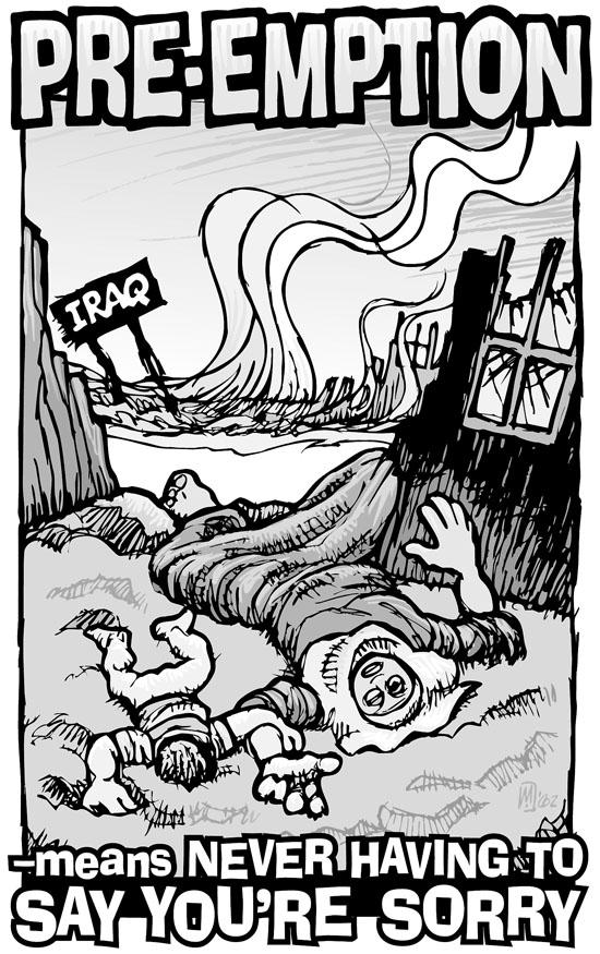 pre emptive war